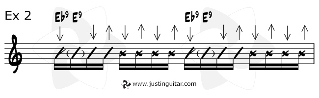 10 Funking Awesome Funk Chords | JustinGuitar.com