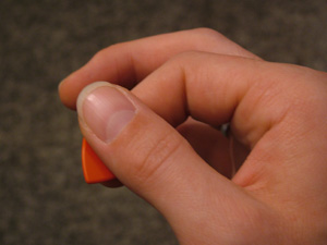 How To Choose And Hold A Pick